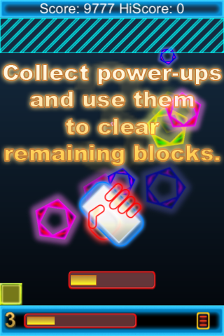 Screenshot a Tap-o-Mania Neon