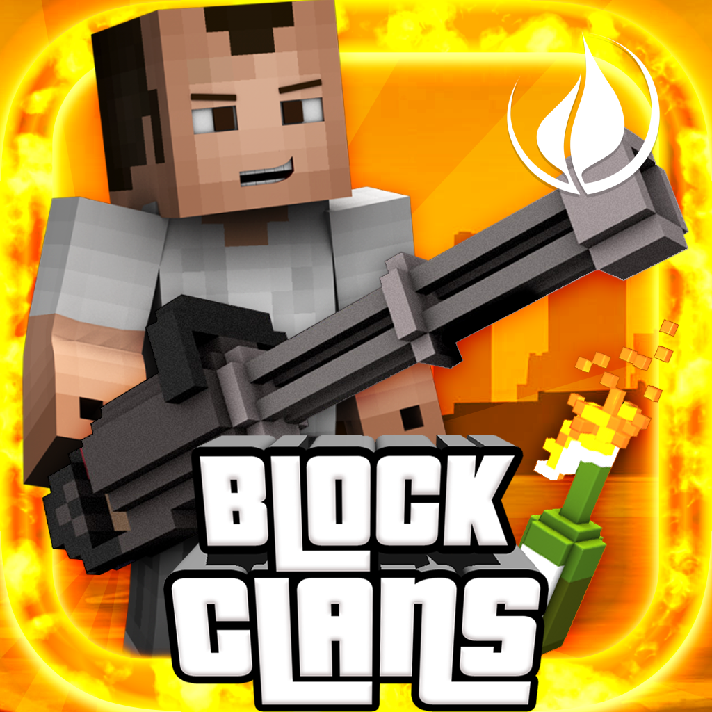Block Clans - 3D Pixel Survival FPS & TPS Gun Shooter Game - ...